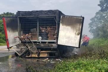 Asaltan a trabajadores de una heladería y les queman sus vehículos