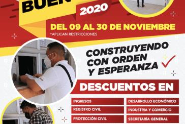 FERIA DE DESCUENTOS MUNICIPALES EN EL BUEN FIN