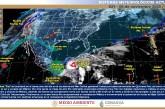 Lluvias puntuales intensas a torrenciales en Quintana Roo, Veracruz, Oaxaca, Chiapas, Tabasco, Campeche y Yucatán