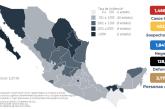 México registra 1,466,490 casos totales confirmados y 128,822 defunciones por COVID-19
