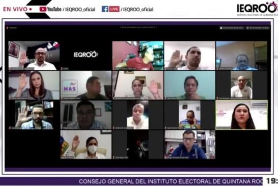 Aprueba IEQROO integración de los 11 consejos municipales