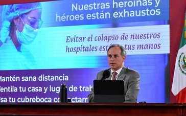 Hospital General de México atiende más de 13 mil pacientes por COVID-19