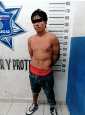 DETIENE LA POLICÍA A MAL HIJO QUE GOLPEÓ A SU MADRE