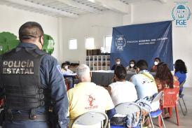 IMPARTE FISCALÍA, CURSO PREVENTIVO SOBRE EXTORSIÓN A RESTAURANTEROS DE MAHAHUAL
