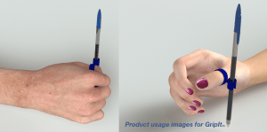 Pen grip helper for special needs - 3D CAD visualisation