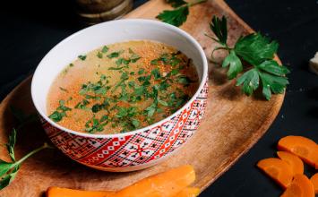 Terbiyeli Sebzeli Tavuk Çorbası