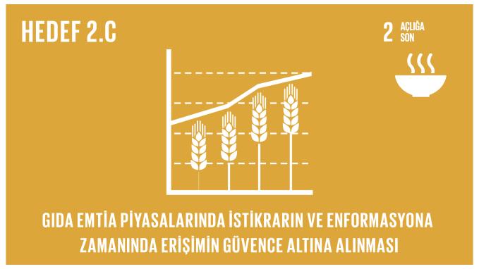 Gıda emtia piyasalarında istikrarın ve enformansyona zamanında erişimin güvence altına alınması