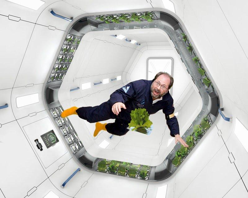 Uzayda ve ayda tarım yapabilmek mümkün mü?