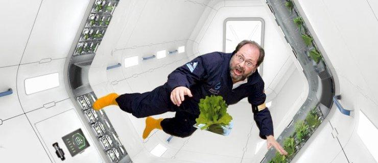 Uzay tarımı veya ayda üretim yapabilmek mümkün mü?