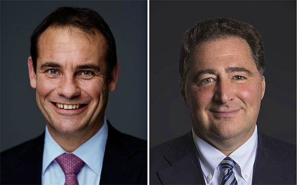 Beat Hauenstein, left, the former chief operating officer of Davidoff, will replace Hans-Kristian Hoejsgaard as CEO. Domenico Scala, right, will become chairman of the company.