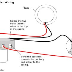 Simple Guitar Pickup Wiring Diagram The12volt Diagrams Cigar Box Guitars