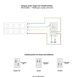 humbucker kann in 3 verschiedenen modi geschaltet werden [ 888 x 888 Pixel ]