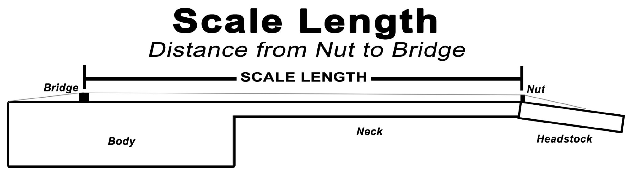 hight resolution of scale length diagram