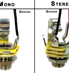 wiring mono and stereo jacks for cigar box guitars amps more stereo jack wire color code stereo jack wiring [ 1440 x 1000 Pixel ]