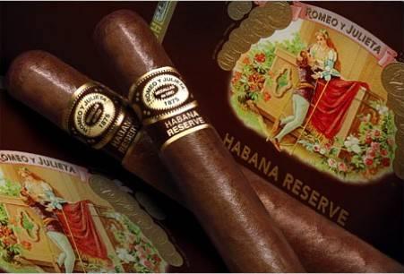 Cigare romeo y julietta