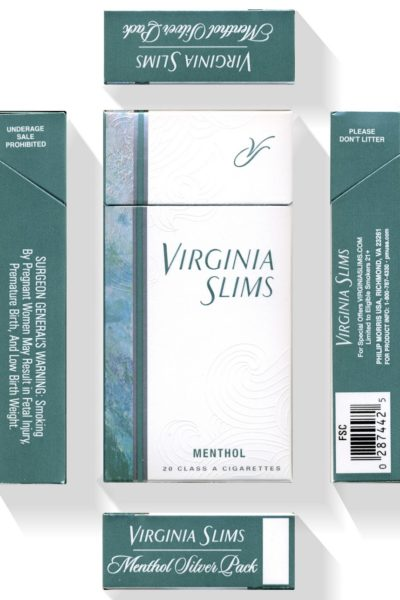 Virginia Slims Purse Pack Flavors New Purse and Wood