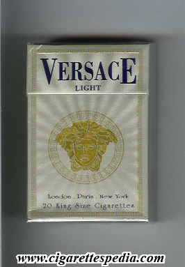 Versace light cigarettes