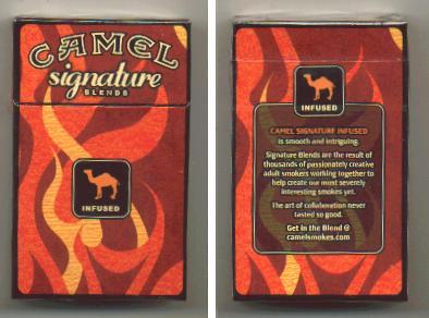 camel signature blends discontinued