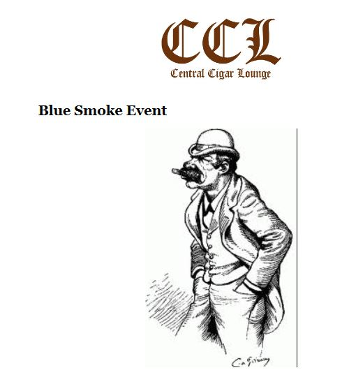 (New York) Blue Smoke Event at Central Cigar Lounge