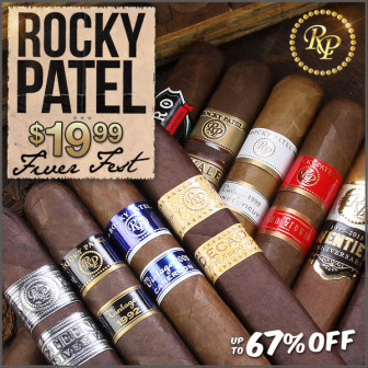 ROCKY PATEL $19.99 SPRING BLOOM FIVER FEST…..enough said, proceed to checkout