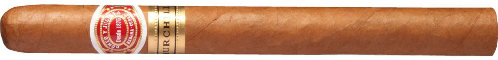 Romeo y Julieta Churchill cigar shape