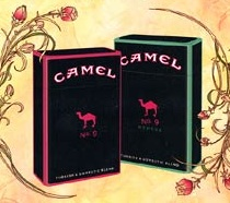 Camel No. 9 Packages