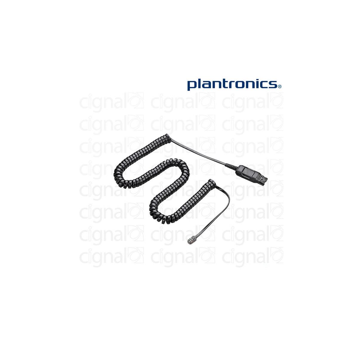 Cable adaptador Plantronics HIS-1 para teléfonos Avaya