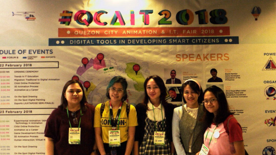 CIIT Students Takes Part in the QCAIT 2018