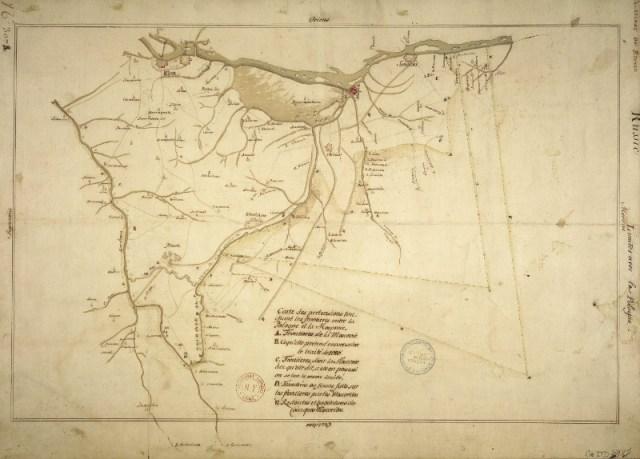 Старі мапи: Київщина | Цікаве