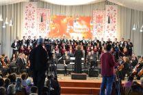 """Національна радіокомпанія України. Концерт """"Проспівана поезія"""" з циклу """"Мистецькі історії""""."""