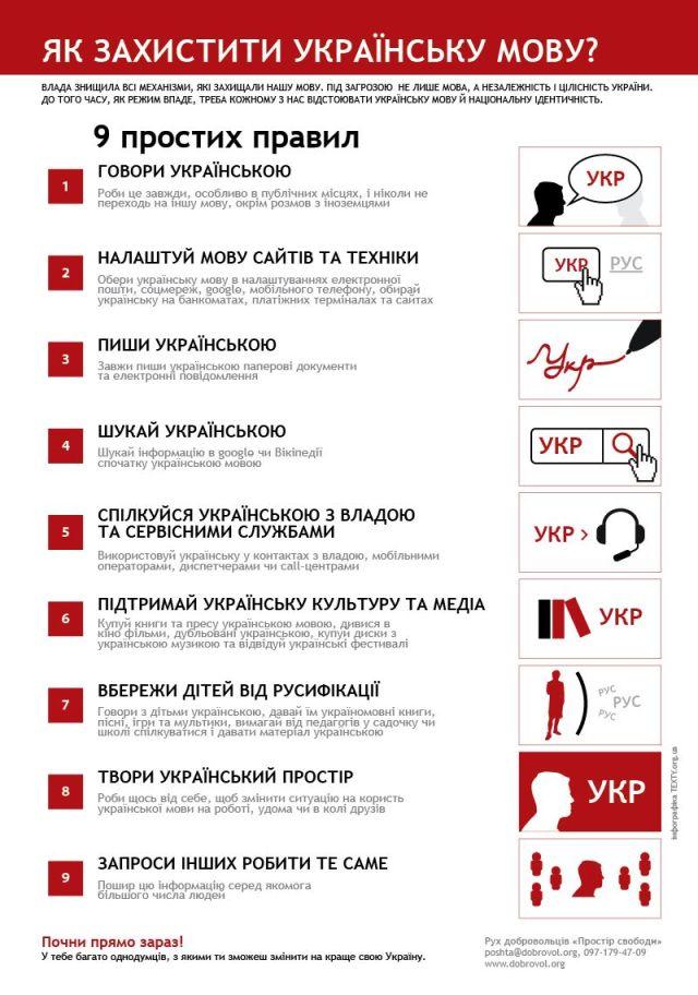 Як захистити українську мову?