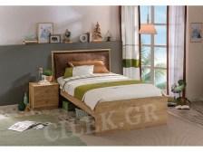 Παιδικό κρεβάτι ημίδιπλο MO-1305 - MO-1305