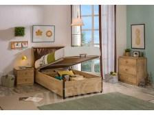 Παιδικό κρεβάτι με αποθηκευτικό χώρο MO-1705 - MO-1705