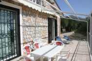 Terrasse von Villa Michela