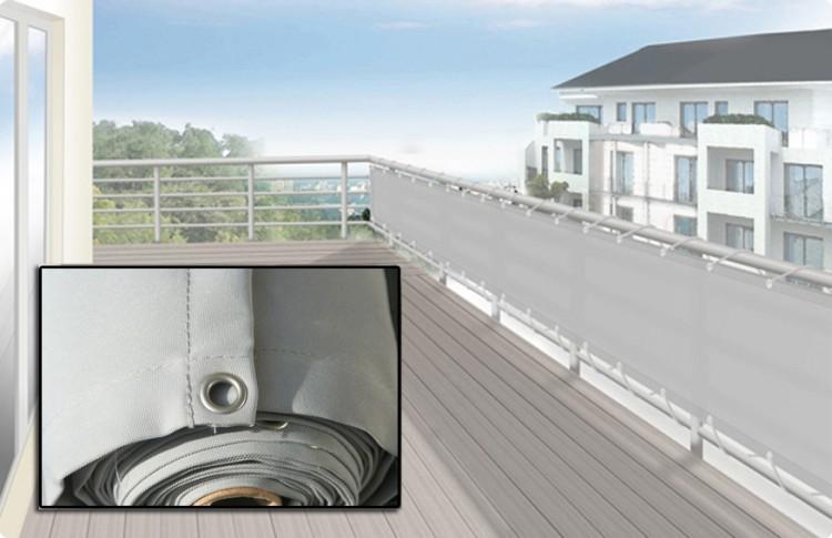 sichtschutz stoff terrasse als sichtschutz und windschutz. Black Bedroom Furniture Sets. Home Design Ideas