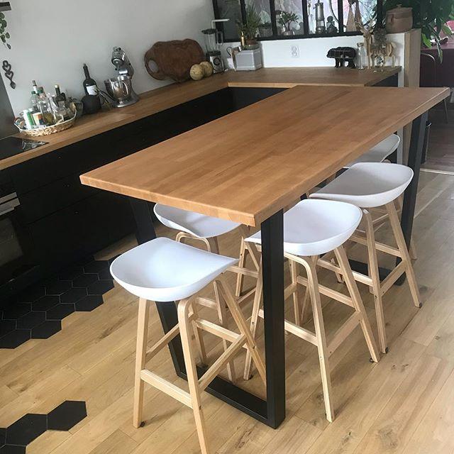 la table de la cuisine on a commande