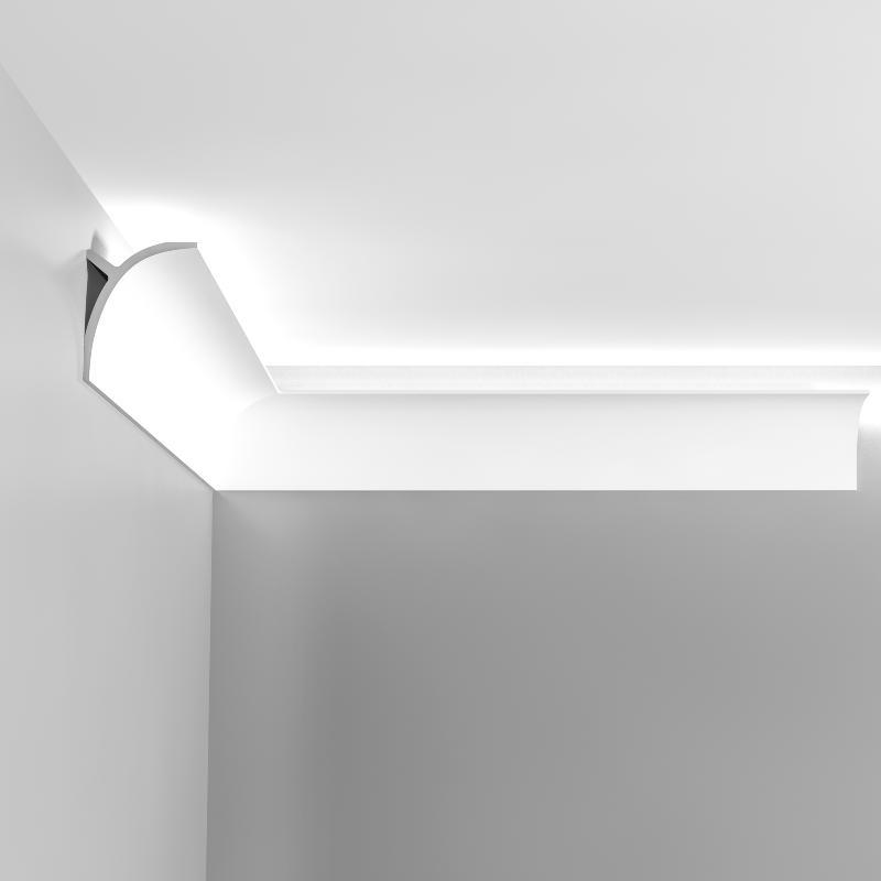 c991 corniche eclairage indirect polyurethane orac decor luxxus ulf moritz