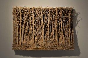Eva Jospin, exposition galerie Suzanne Tarasieve à Paris