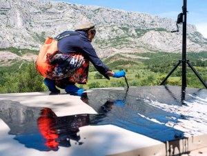 fabienne verdier philippe chancel musee granet - Fabienne Verdier sur les terres de Cézanne