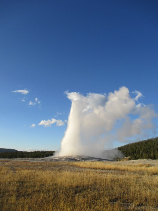 Old Faithful, Yellowstone, USA