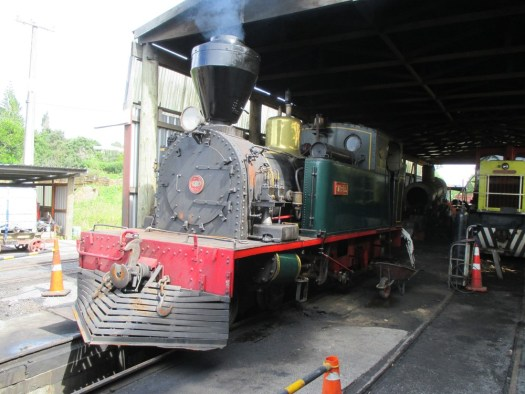 The Bay of Islands Vintage Railway in Kawakawa