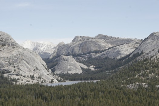 Yosemite granite, USA