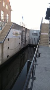 Lingehaven lock at Gorinchem