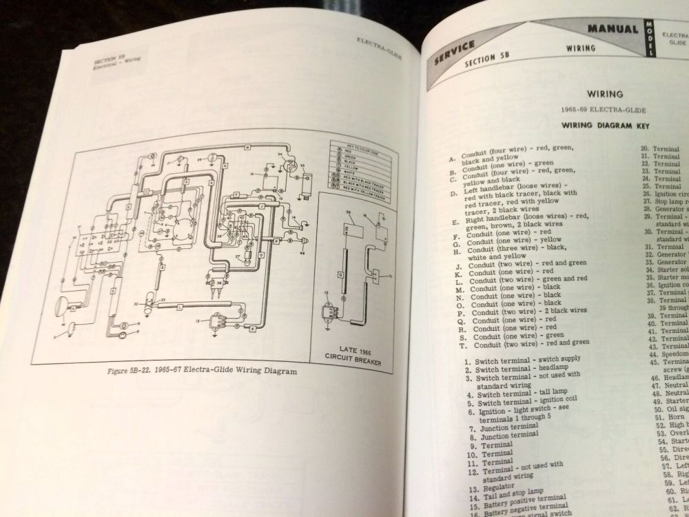 medium resolution of harley fl flh service manual 1959 to 1969 panhead shovelhead electra 1966 flh cycle electric wiring diagrams