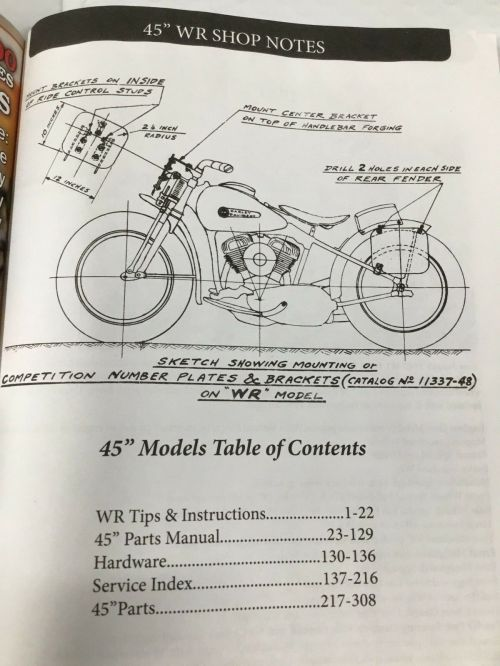 small resolution of harley wl wr servicar service parts tuning manual 1937up