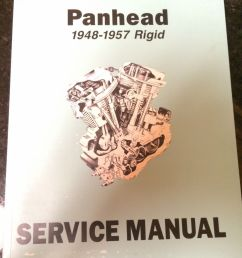 harley el fl flh service manual 1948 to 1957 panhead rigid hydraglide new [ 1200 x 1600 Pixel ]