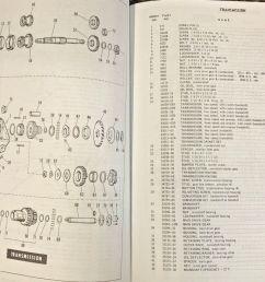 harley fl flh parts manual book 1958 to 1968 shovelhead panhead electraglide  [ 1539 x 1113 Pixel ]