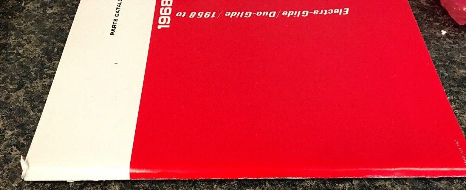 hight resolution of  harley fl flh parts manual book 1958 to 1968 shovelhead panhead electraglide