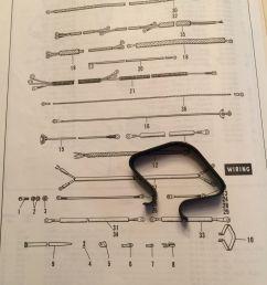 harley 10012 frame head wire loom clip panhead shovelhead servicar 19611984  [ 960 x 1280 Pixel ]