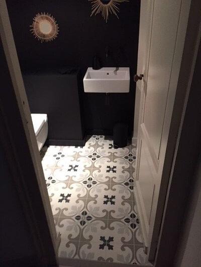 carreaux de ciment toilettes